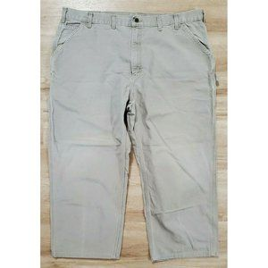 Carhartt Mens Washed Duck Work B11 Desert Pants 44